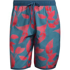 adidas Nature Classics CL Shorts Men, blauw/rood
